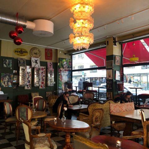 Bild från Café String av Ida B.