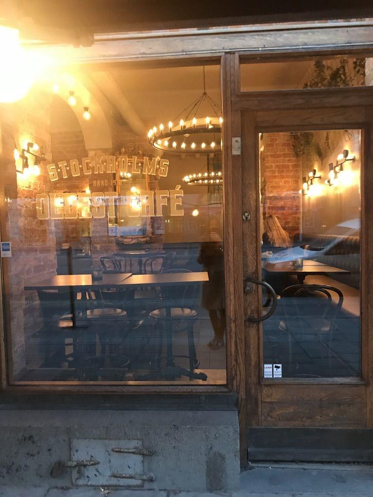 Utanför – Bild från Café Fix av Jessica K.
