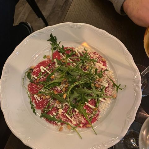 Carpaccio – Photo from Café Cuvée by Elin E.