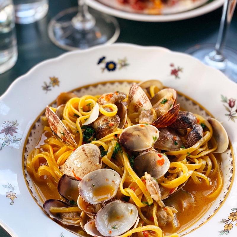 Pasta vongole – Bild från Calle P av Isabelle W.