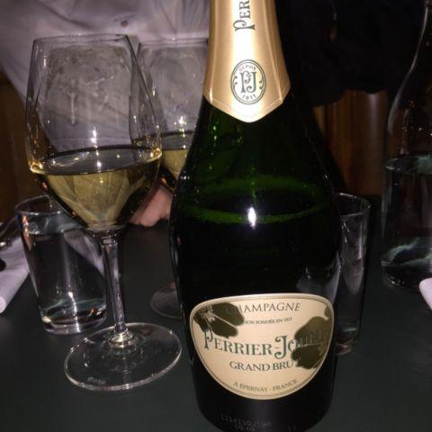 Kvällens champagne – Bild från Calle P av Katrine L.
