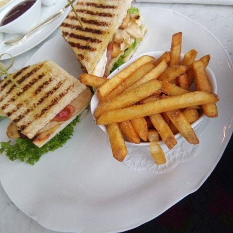 Club sandwich – Photo from Cadierbaren by Katarina D.