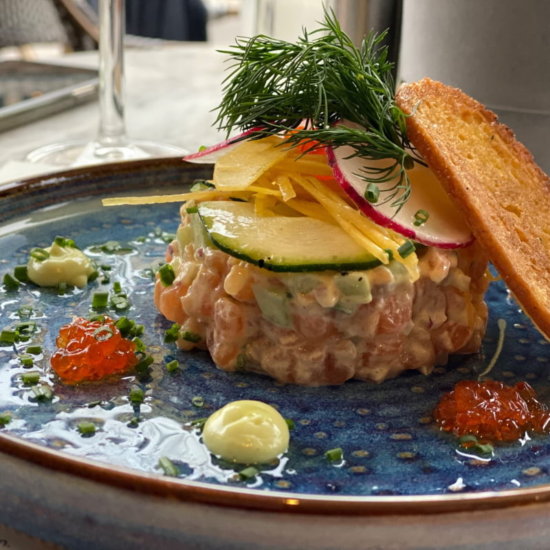 Laxtartar – Photo from Café Colette by Annelie V.