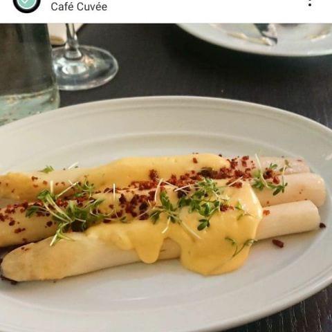 Bild från Café Cuvée av Catrin M.