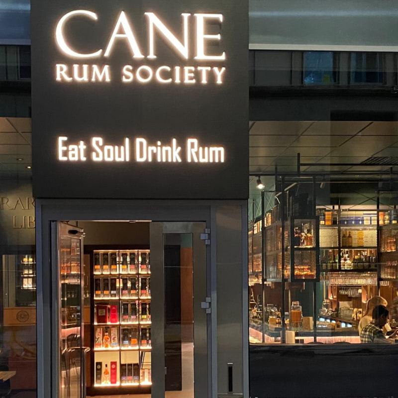 Entrance – Bild från Cane Rum Society av Duane S.