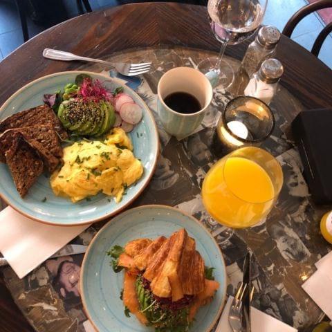 Äggröra himmelsk – Bild från Café Fix av Annelie V.