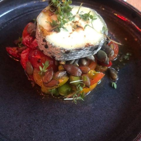 Tomat med getost – Bild från Calle P av Elin E.