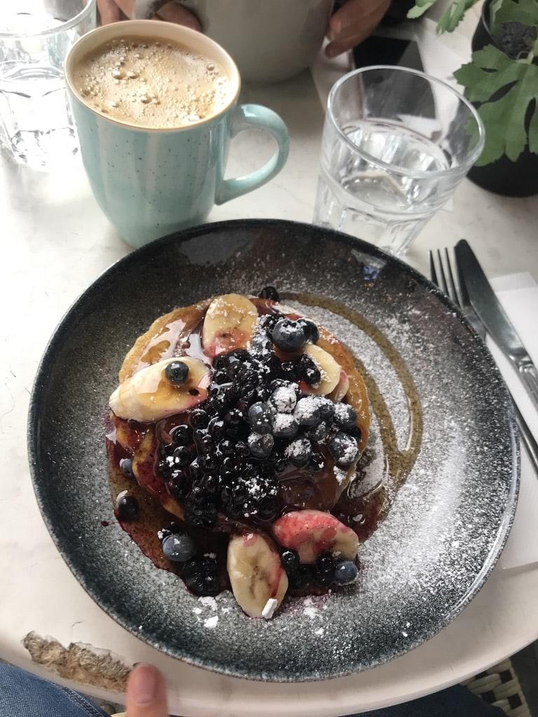 Pannkakor – Bild från Café Fix av Jessica K.