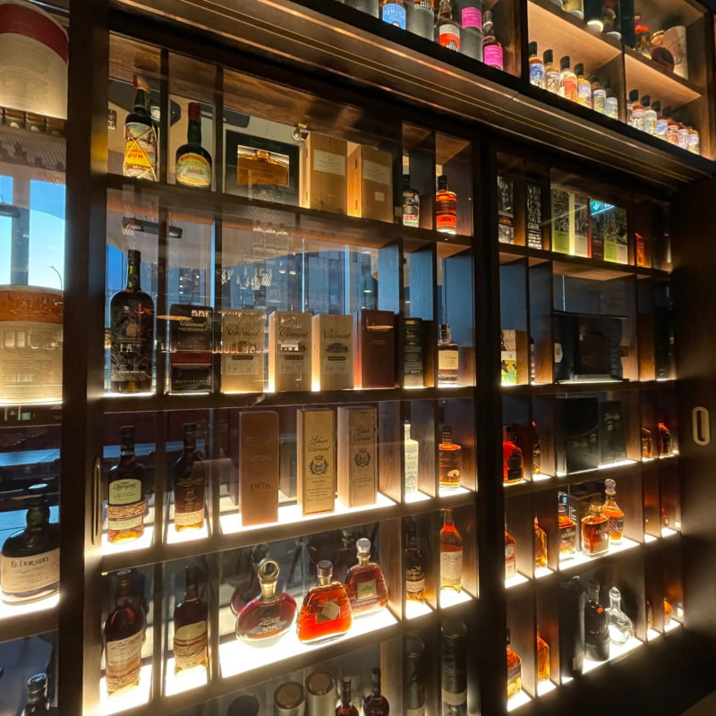 Utbudet – Bild från Cane Rum Society av Nils Erik J.