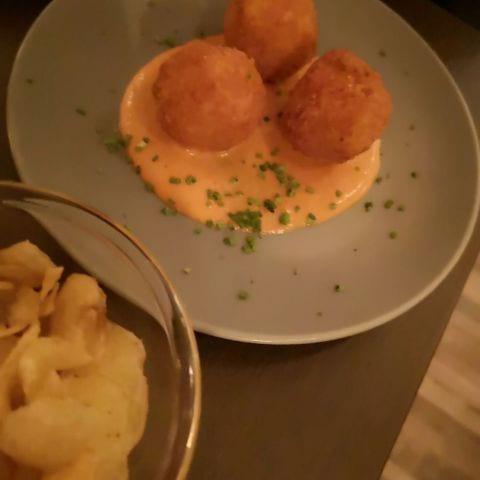 Kålrotskroketter – Bild från Café Cuvée av My J.