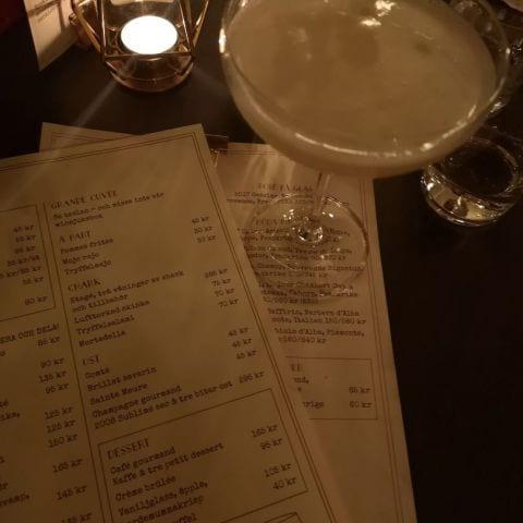 Drink & Meny – Bild från Café Cuvée av My J.