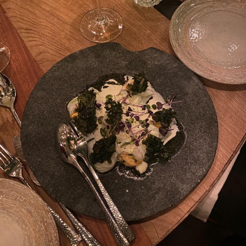 Ceviche på hälleflundra – Bild från Canta Lola av Adam L.