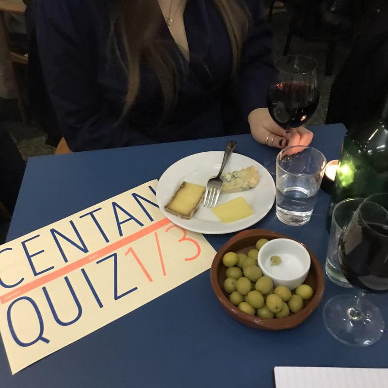 Ibland anordnas quizkvällar - väldigt trevligt! – Bild från Centan av Lisa S.