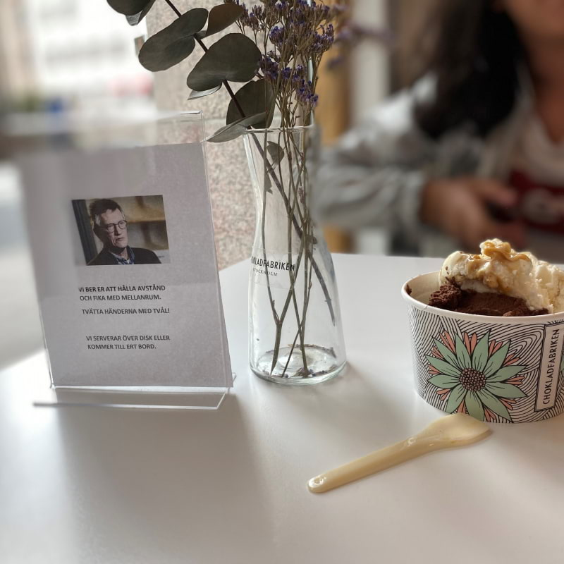 Gelato denna gång! – Photo from Chokladfabriken City by Madiha S.