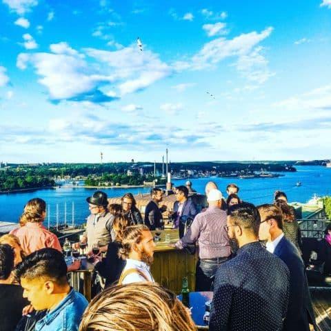 Utsikten – Bild från Champagnebaren av Fredrik J.