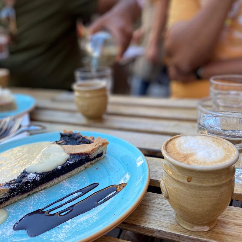 Cappuccino och latte – Bild från Chokladkoppen av Madiha S.