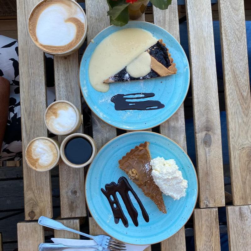 Blåbär paj, caramel paj – Bild från Chokladkoppen av Madiha S.