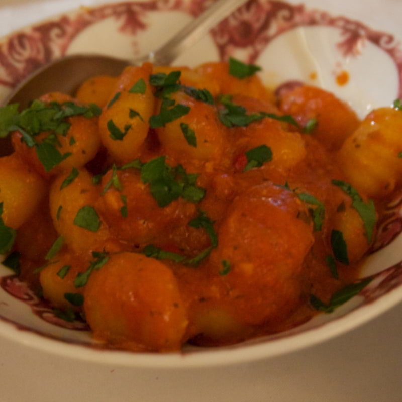 Gnocchi med salsa – Photo from Ciccio's by Lisa S.