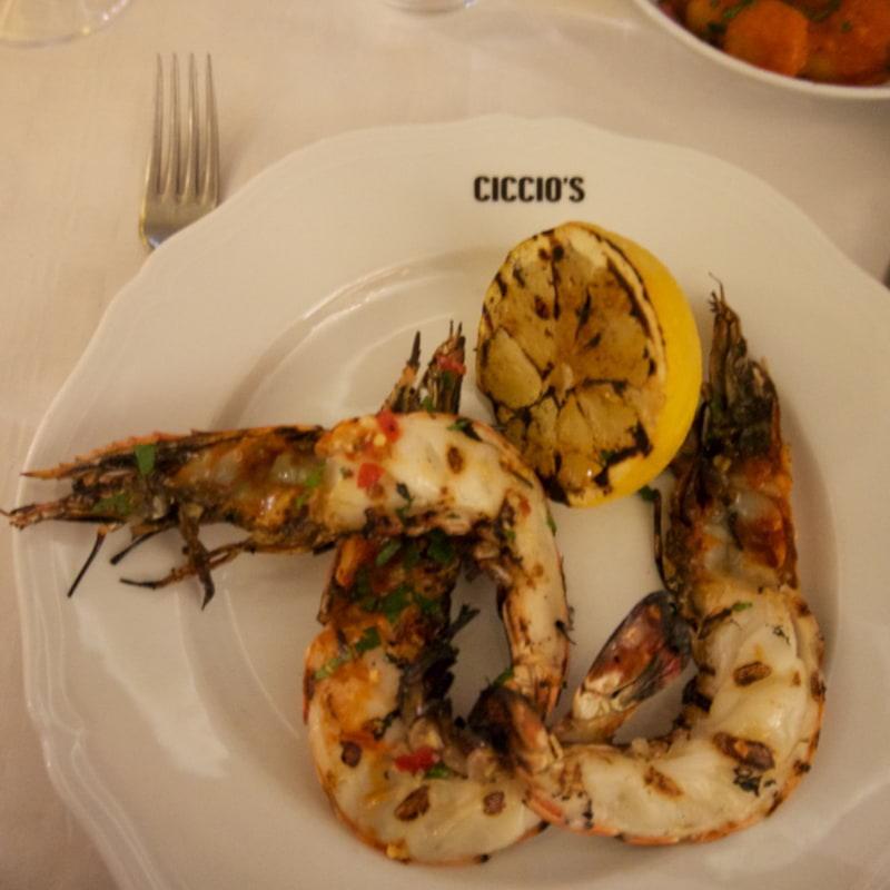 Scampi – Bild från Ciccio's av Lisa S.