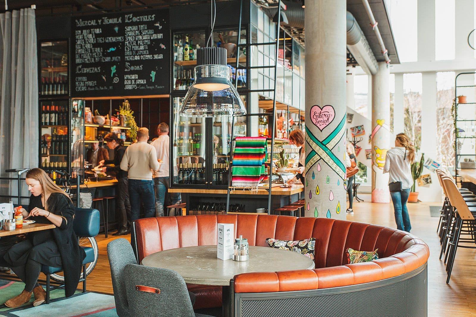 Krok upp barer i Hollywood
