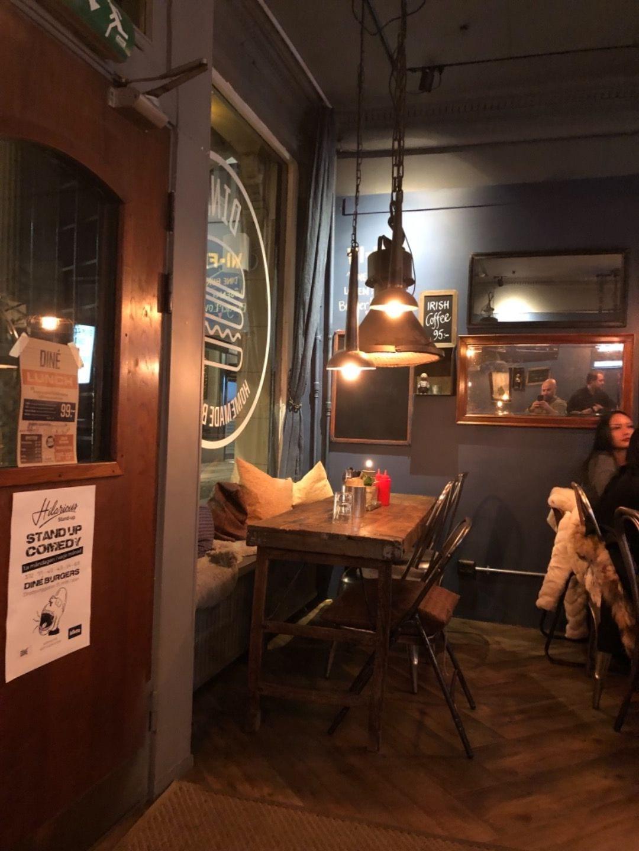 Bild från Diné Burgers Göteborg av Ayo D.