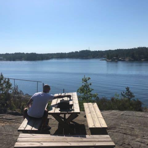 Utsikten – Bild från Djurönäset av Annelie V.