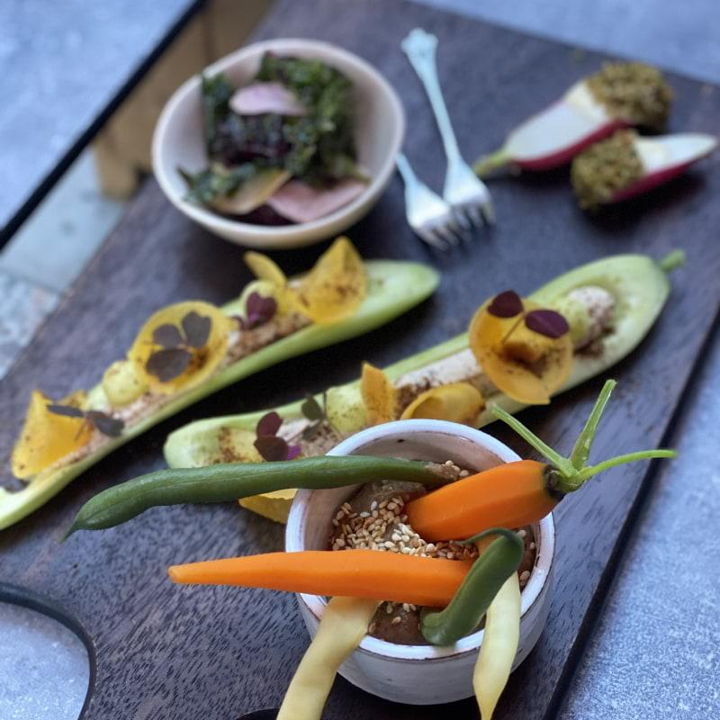 Grön snacksbricka – Bild från DoMa av Erica E.