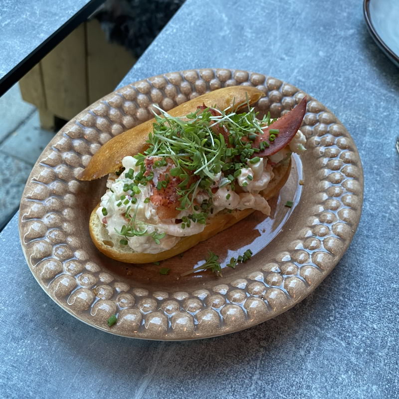 Lobster roll – Photo from DoMa by Erica E.