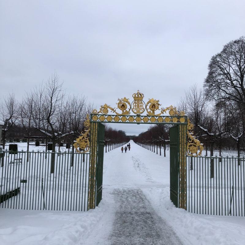 Bild från Drottningholms slottspark av Ida B.