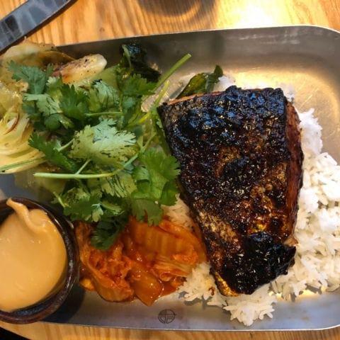 Riktigt bra lax på Eat – Bild från EAT Market av Annelie V.