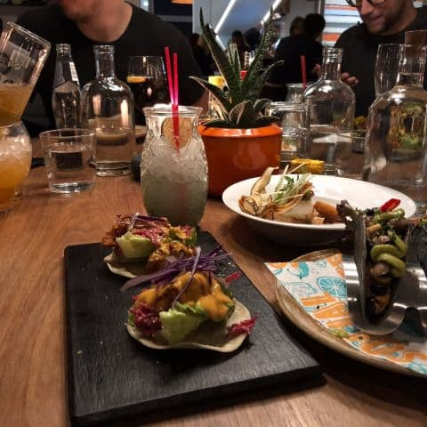 Fish tacos, kycklingtacos och ceviche – Photo from Eatery Social Skanstull by Adam L.