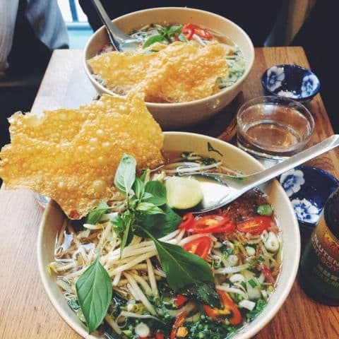 Vegansk Phở – Photo from Eatnam Odengatan by Agnes L.