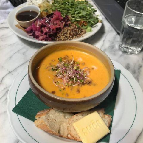 Dagens soppa – Bild från Ecobaren av Jessica K.