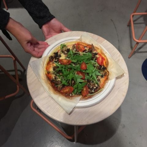Pizza – Photo from Eggs Inc. by Agnes L.