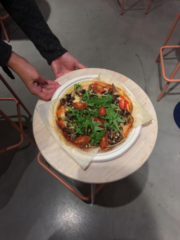 Pizza – Bild från Eggs Inc. Odengatan av Agnes L.