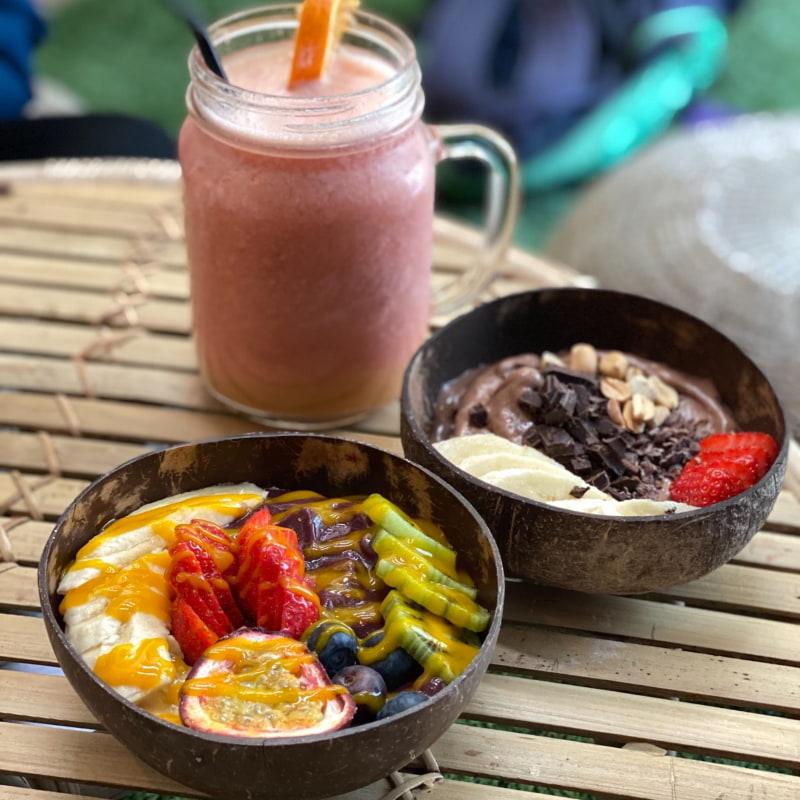 Mysig brunch med megastor smoothie – Bild från En Juicebar av Agnes L.