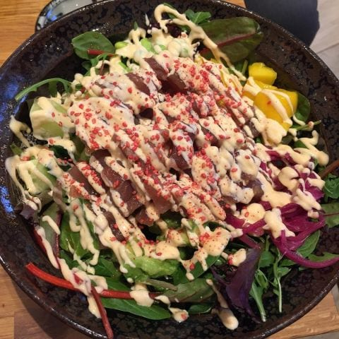 Tuna bowl – Bild från Esa Sushi av Peter B.
