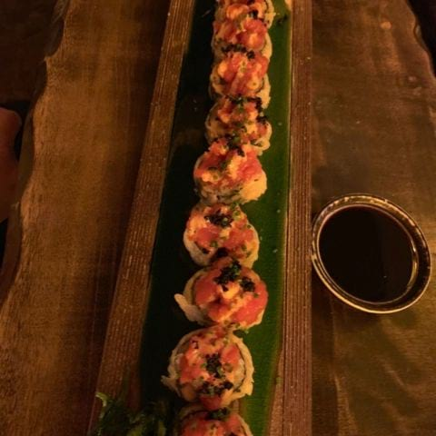 Hot tuna – Bild från Esuki Sushi Solna av Gustav L.