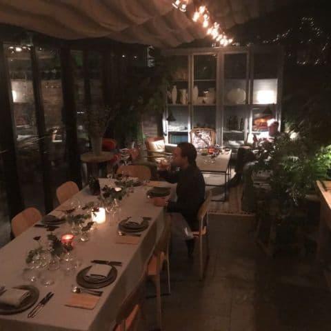 Middag i orangeriet – Bild från Ett Hem av Malin S.