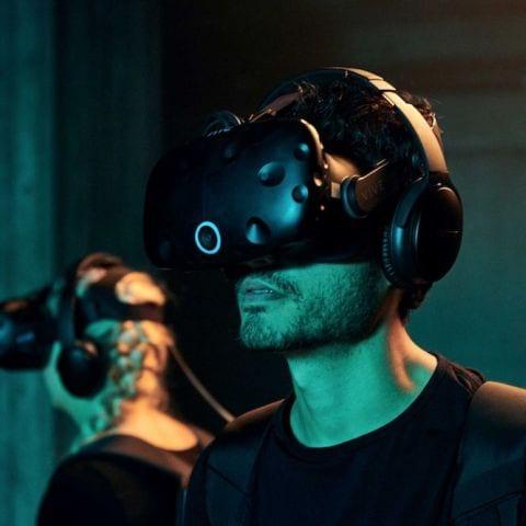 VR – Bild från Exit VR av Nikolina J.