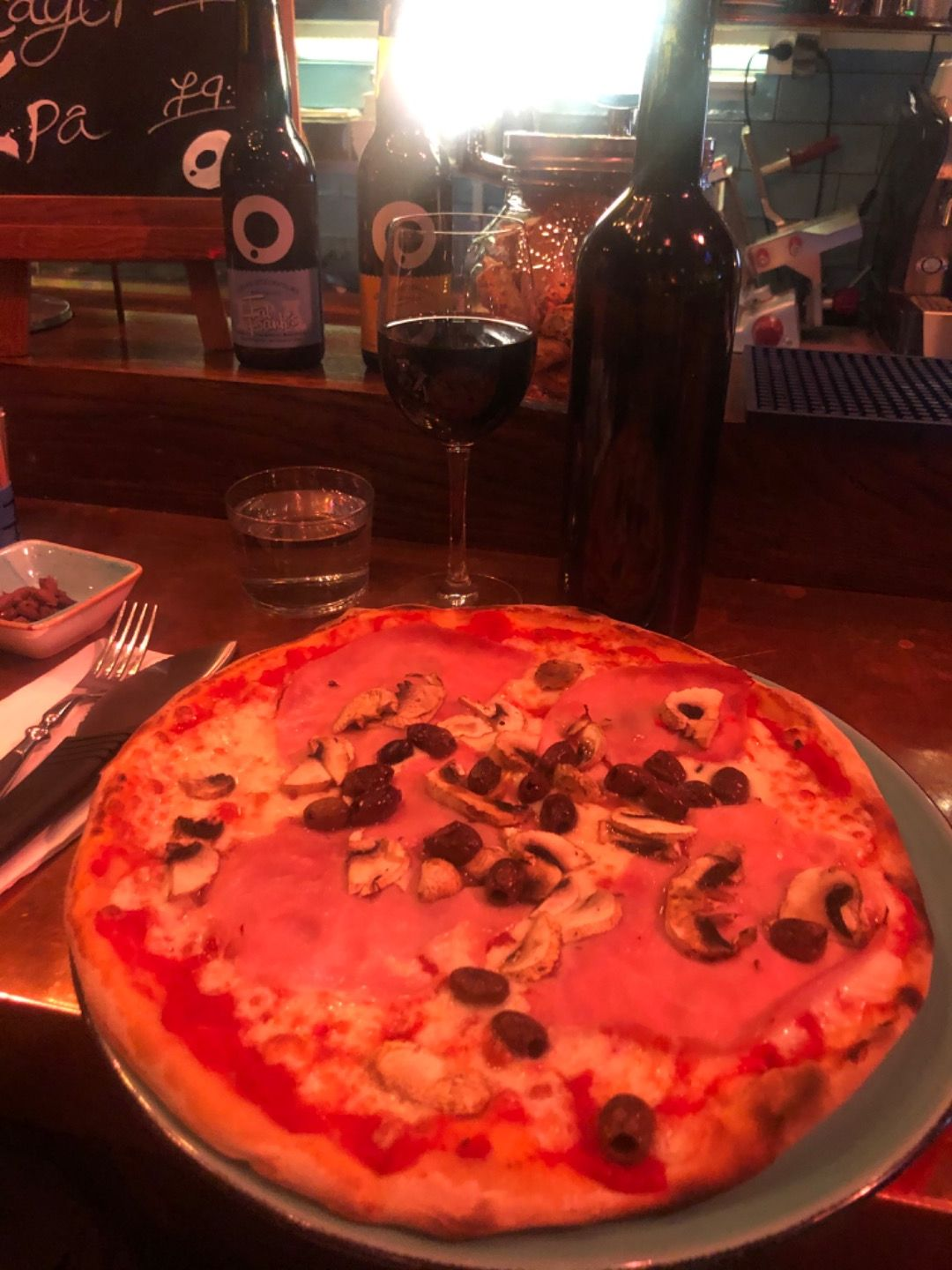 Photo from Fat Frank's Pizza & Wine by Elin E.
