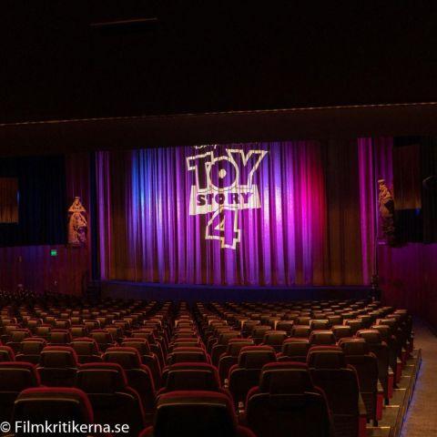 Bild från stora salongen – Bild från Filmstaden Rigoletto av Erik F.