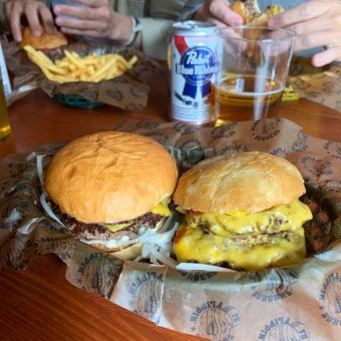Dubbel dubbel Flippin – Photo from Flippin' Burgers by Robin N.