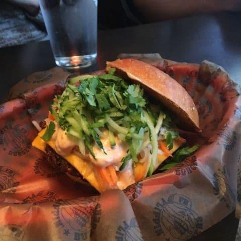 Beanie (vegetarisk) – Bild från Flippin' Burgers av Adam L.