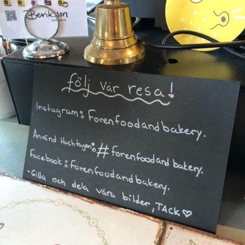 Följ följ – Bild från Foren Food & Bakery av Agnes L.
