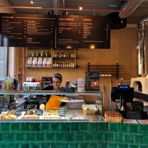 Fina färger och nice vibe! – Bild från Foren Food & Bakery av Per N.