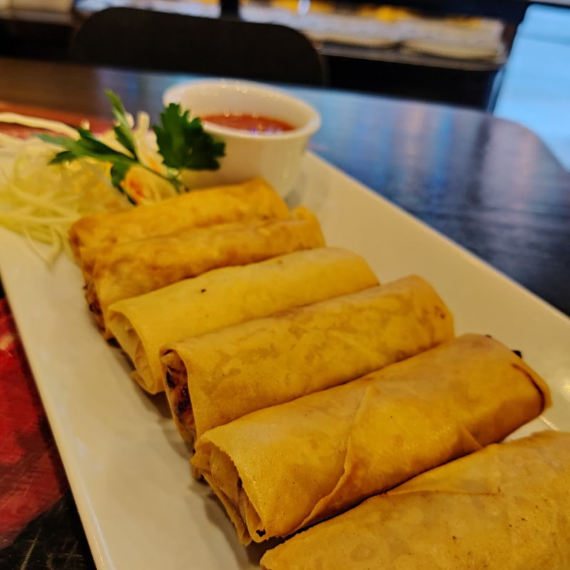 Spring roll – Photo from Fullmoon Wok by Shahzad A.