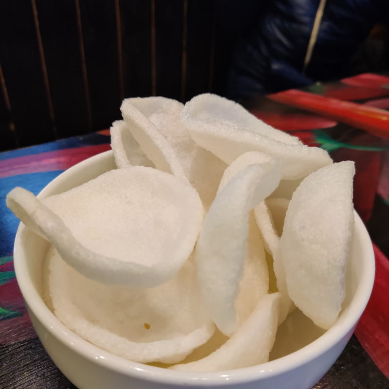 Papadum – Photo from Fullmoon Wok by Shahzad A.