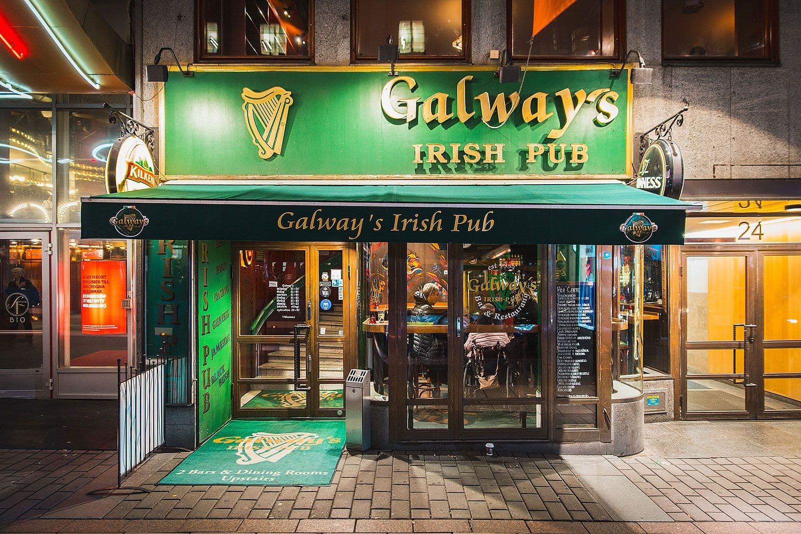 galway u0026 39 s irish pub  u2013 irish pub  u2013 norrmalm  city  stockholm