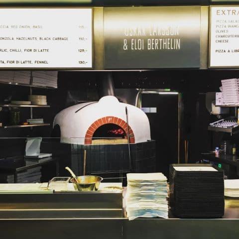 Ugnen – Bild från Galinas Pizza av Fredrik J.